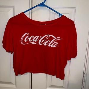 Coca Cola Cropped Tee